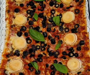 Pizza 8 raciones